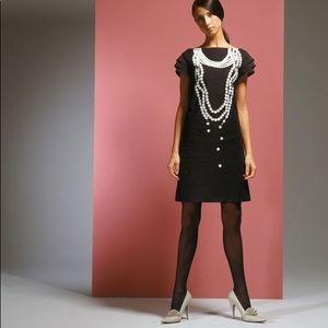 KAREN WALKER funky sweatshirt dress gray Sz 10